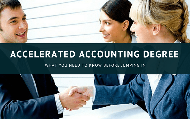 Accelerated Accounting Degree Programs Online