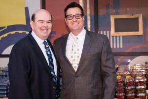 Sahuarita Mayor Tom Murphy and Accelerated Development's Trey Eakin
