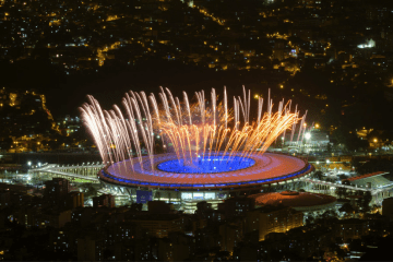 stadium where olympics opening ceremony took place in rio
