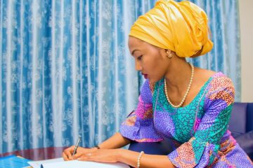zahra buhari African presidents' daughters