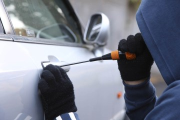 car thief apprehended in stop and search