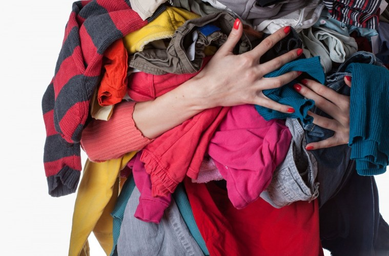 giving away clothes