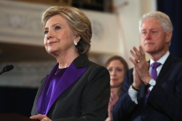 hillary clinton meaning of purple