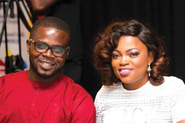 JJC Skillz & Funke Akindele are the Very Cutest Power Couple