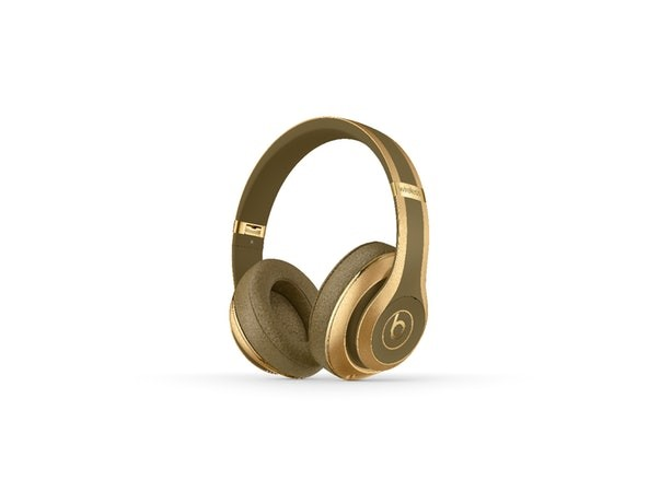 11b9942a01e The headphones are available in two styles; in Khaki or gold, and each  comes with a matching coloured Balmain plaque adorned case.