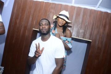 Tiwa Savage and Teebillz