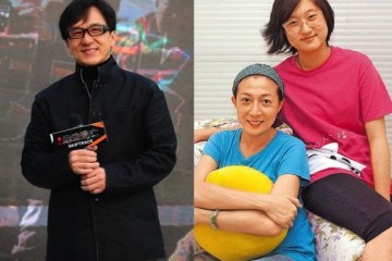 Jackie Chan and daughter