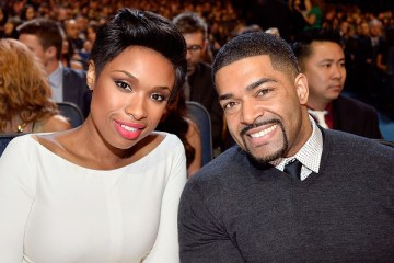 Jennifer Hudson and David Otunga