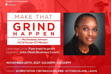 Startup-grind hosts omobola johnson november