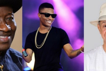 wizkid, ben bruce and goodluck