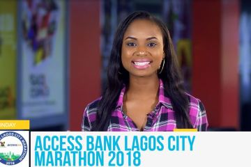 Mojibade and Access Bank Lagos City Marathon