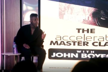 John Boyega X the full accelerate master class