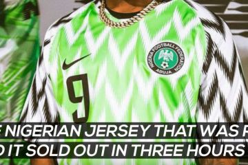 4545f3095 Accelerate News – Nigerian Football Jersey Sells Out In 3 Hours