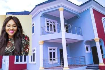 mercy aigbe's house
