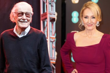 stan lee and j.k rowling