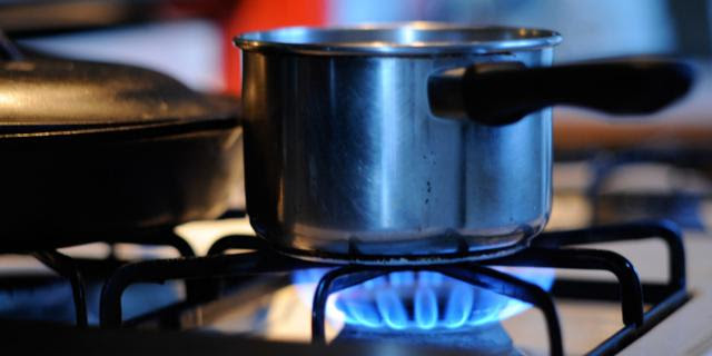cooking pot gas