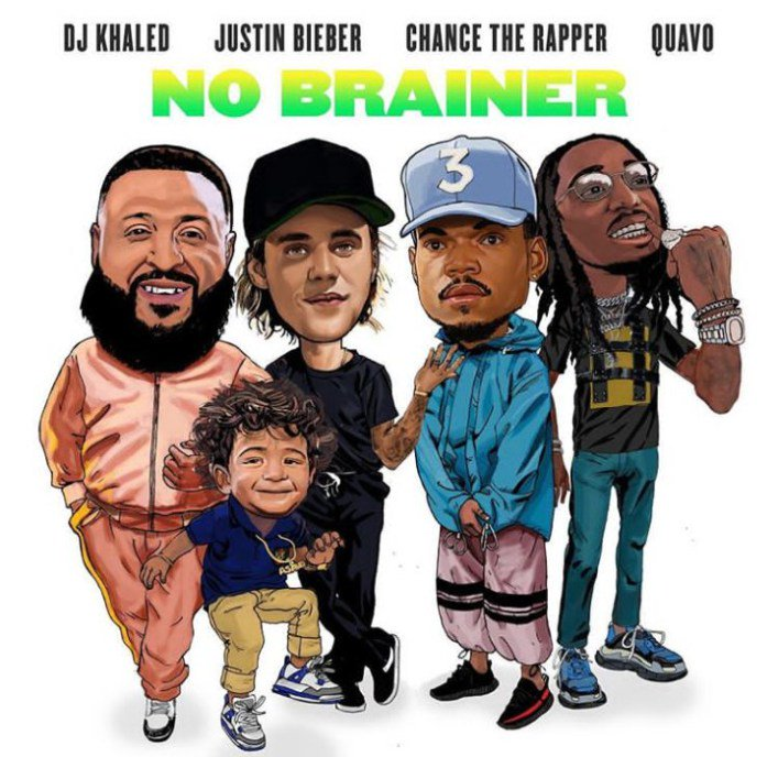 no brainer Chance the Rapper, Justin Bieber Quavo