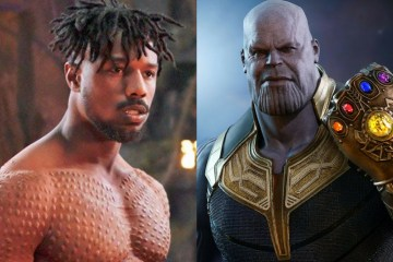 killmonger vs thanos