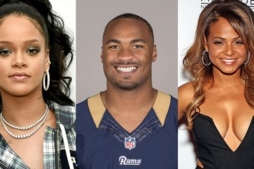 rihanna, robert woods and christina milian