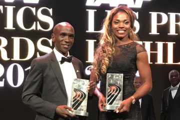 Kipchoge & Ibarguen Clinch IAAF Awards