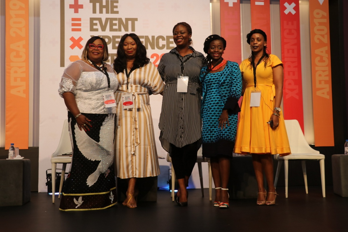Cross section of the second panelist after their session.