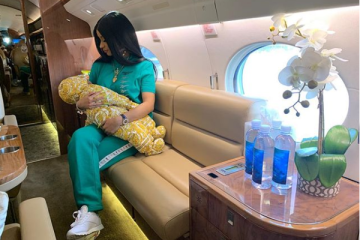 cardi b and baby kulture
