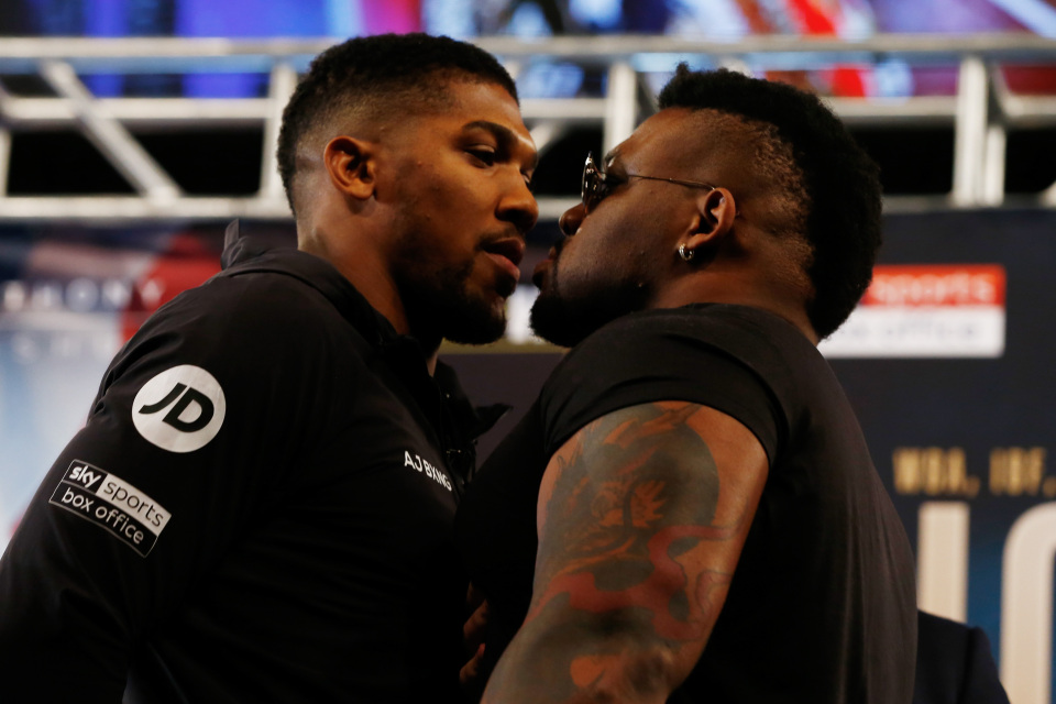 anthony joshua and miller