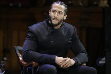 colin kaepernick in black