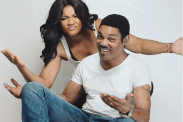 omotola jalade and husband Captain Mathew Ekeinde