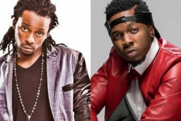 del b and runtown images stictched together