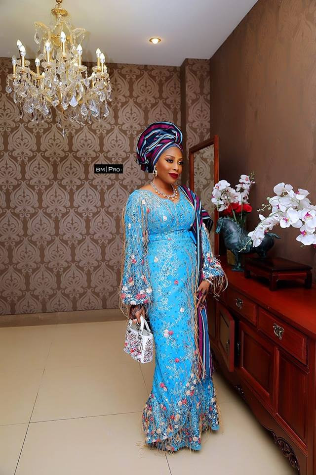 mo abudu at daughter's wedding