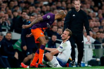 harry kane injured v man city