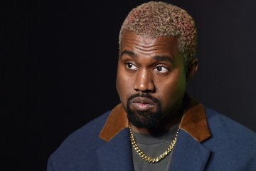 Kanye west dyed hair