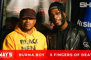 Burna Boy and Sway