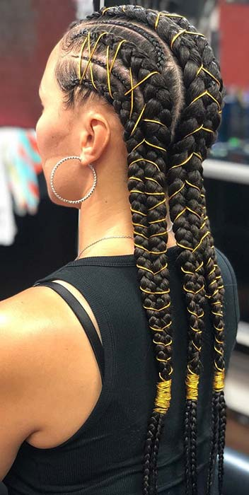 Braids-with-Cords