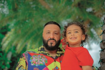 DJ Khaled and Asahd GQ