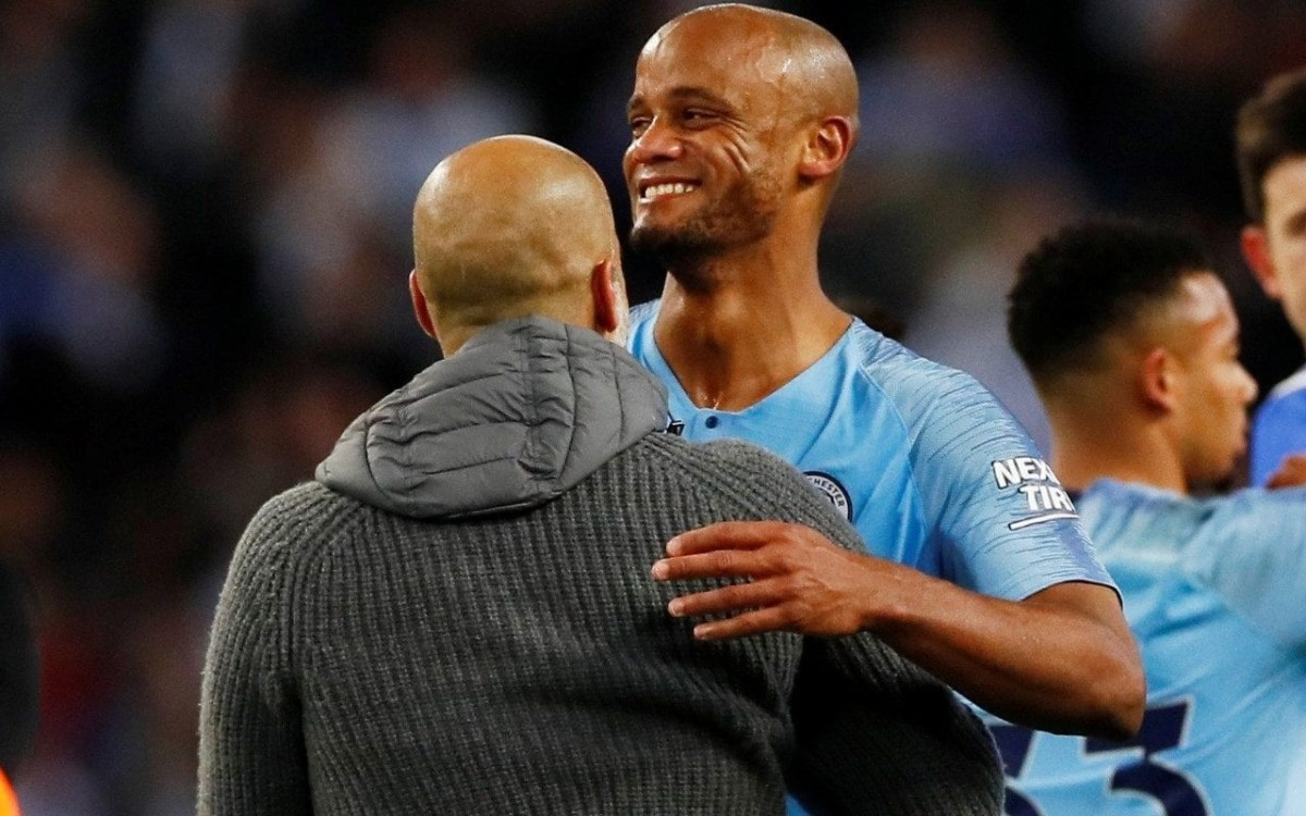 pep guardiola and kompany