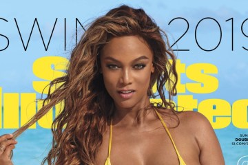 Tyra Banks Sports Illustrated
