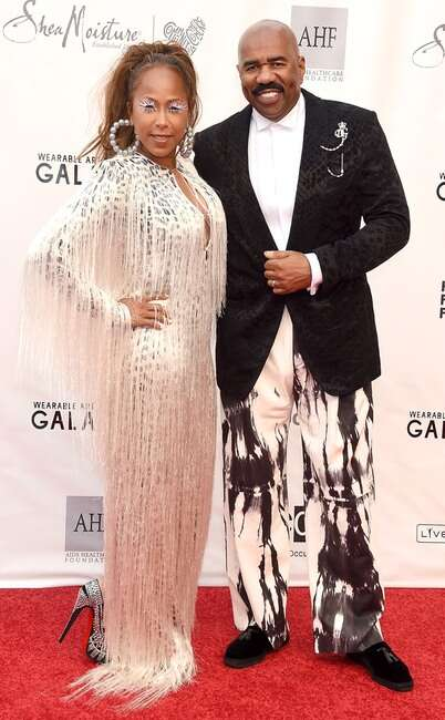 Steve harvey and Marjorie Elaine Harvey