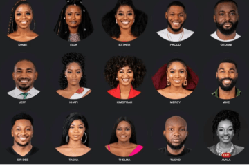 Big brother naija housemates2