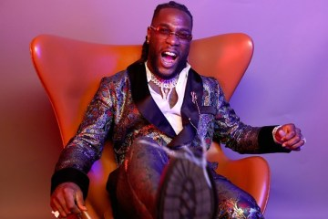 burna boy on vogue