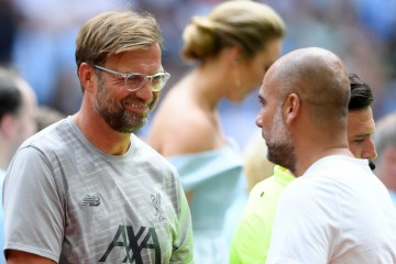 klopp-guardiola community shield 2019
