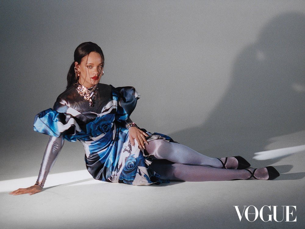 Rihanna vogue hong kong