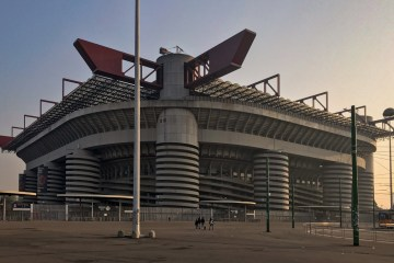 The Giuseppe-Meazza Stadium