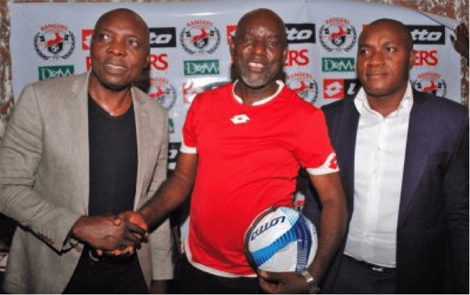 Image result for NIGERIA PRO-FOOTBALL LEAGUE ENUGU RANGERS SIGN JERSEY, KIT DEAL WITH LOTTO