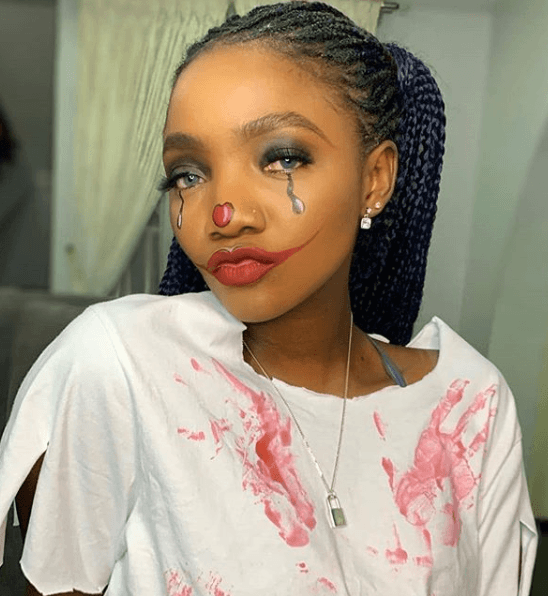 Simi in Costume