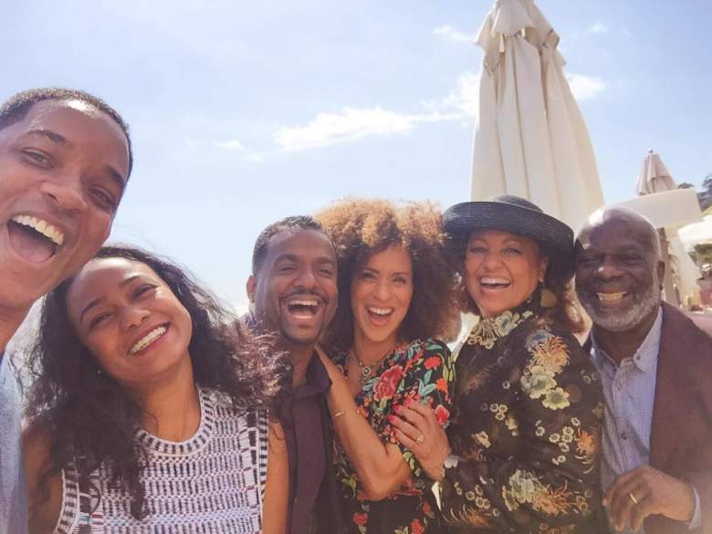 Will Smith and Fresh Prince Of Bel Air Cast