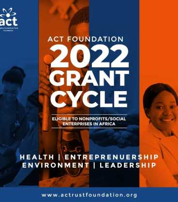 ACT Foundation 2022 Grant Cycle