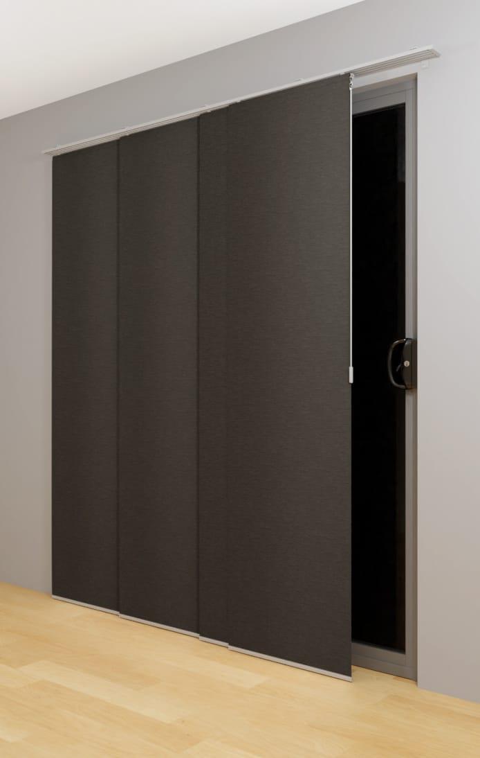 Portsea Plain Panel Glide Blockout  Accent Blinds