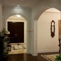 Modern Wall Units Living Room Leather Chairs Archways Casement Millwork | Headers Columns- Accent Haus